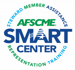 SMART Center Logo - Steward / Member / Assistance / Respresentation / Training